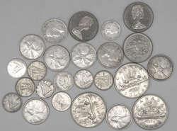 100.70.580.10: Lots - Münzen - Nordamerika - Kanada