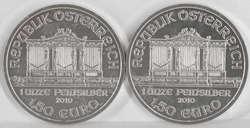 40.380.240.40: Europa - Österreich / Römisch Deutsches Reich - Euro Münzen  - Gold und Silbermünzen