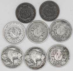 100.70.580.20: Lots - Münzen - Nordamerika - Vereinigte Staaten von Amerika