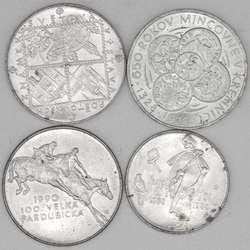 100.70.520: Lots - Münzen - Tschechoslowakei