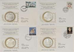 7730: Banknoten und Numisbriefe - Numisbriefe