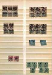 7000: Sammlungen und Posten Deutschland - Dienstmarken