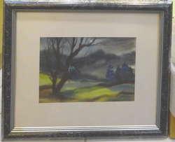100.70: Paintings, Watercolours Contemporaneus Art