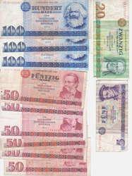 110.80.50: Banknoten - Deutschland - DDR