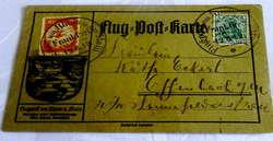 106000: Deutschland West, Plz Gebiet W-60, 600 Frankfurt am Main - Flugpostmarken