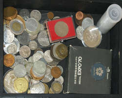 100.70: Multiple Lots - Coins by country