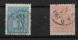 4710030: Norwegen Wappen 1863