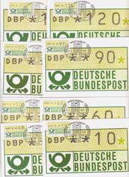 1420: Bundesrepublik Deutschland - Automatenmarken