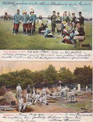 4745400: Österreich Abstempelungen Schlesien - Postkarten