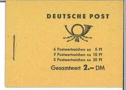 1380: DDR - Markenheftchen