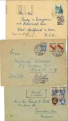 1320: Französische Zone Allgemeine Ausgabe - Briefe Posten