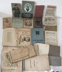 40.10.95: Bücher - Autografen, Bücher, Militär