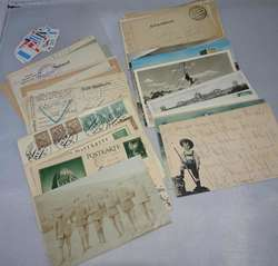 144: Feldpost I. Wk - Postkarten
