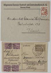 850010: Orden Weimarer Republik und Freikorps - Postkarten