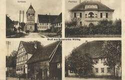 107170: Deutschland West, Plz Gebiet W-71, 717 Schwäbisch Hall - Postkarten