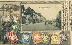 108580: Deutschland West, Plz Gebiet W-85, 858 Bayreuth