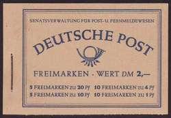 1360: Berlin - Markenheftchen