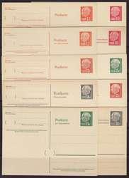 10350030: Saarland (Bundesrepublik) - Ganzsachen