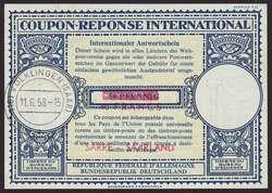 10350030: Saarland (Bundesrepublik) - Internationaler Antwortschein