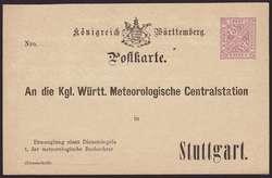 100: Altdeutschland Württemberg - Ganzsachen