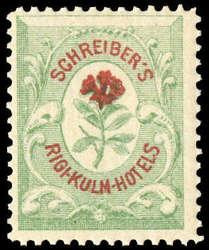 5714: Schweiz Hotelpostmarken - Sammlungen