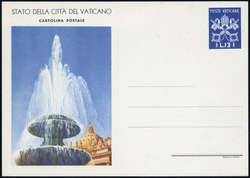 6630: Vatikanstaat - Ganzsachen