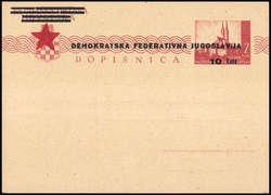 3775: Jugoslawien - Ganzsachen