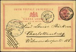 5750: Sierra Leone - Besonderheiten