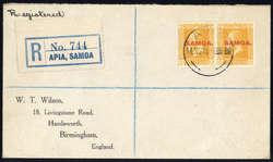 5580: Samoa - Besonderheiten
