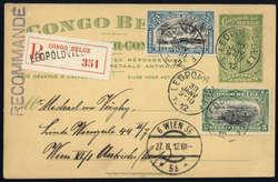 1850: Belgisch-Kongo - Besonderheiten