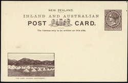4565: Neuseeland - Ganzsachen