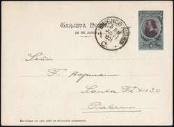 1715: Argentinien - Ganzsachen