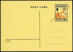 4495: Montserrat - Ganzsachen