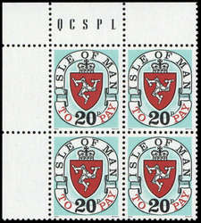 3350: Insel Man - Portomarken