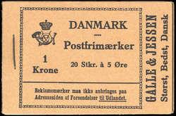 2355: Dänemark - Markenheftchen