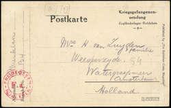 724: Kriegsgefangenenlagerpost - Besonderheiten