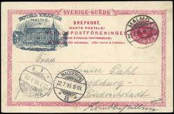 5625: Schweden - Ganzsachen