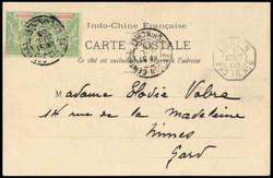 2705: Französisch Indochina Allgemeine Ausgaben - Besonderheiten